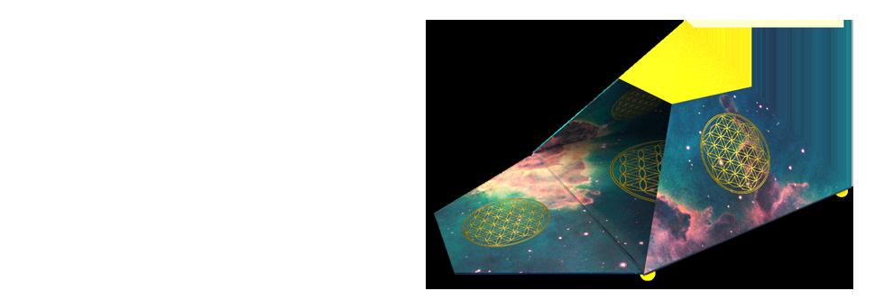 Kosmische Wunsch-Pyramiden